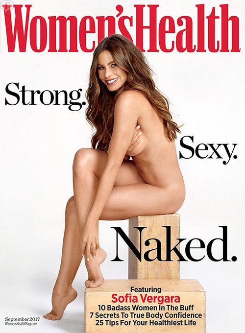 Sofia Vergara posa desnuda para Women's Health
