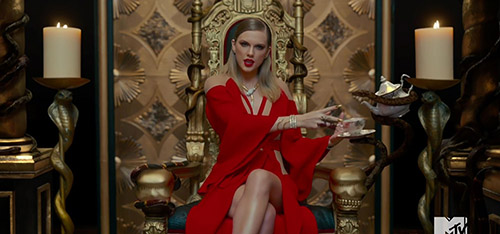 "Taylor Swift video ""Look What You Made Me Do"" LOL!"