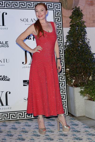 Lindsay Lohan en la portada de L'Officiel