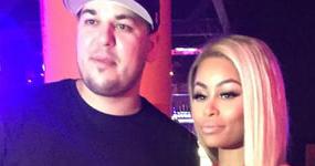 Rob Kardashian demanda a Blac Chyna: trató de ahorcarlo!