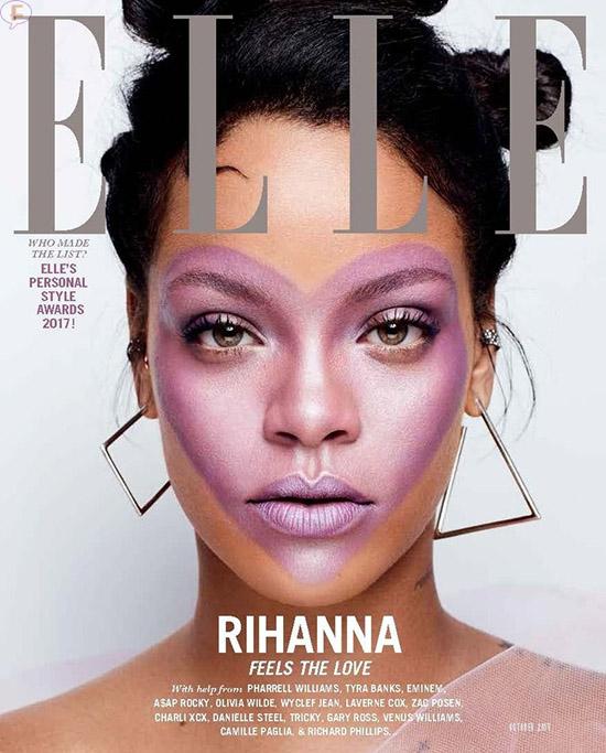 Rihanna y lo más loco que ha hecho por la belleza (Elle)