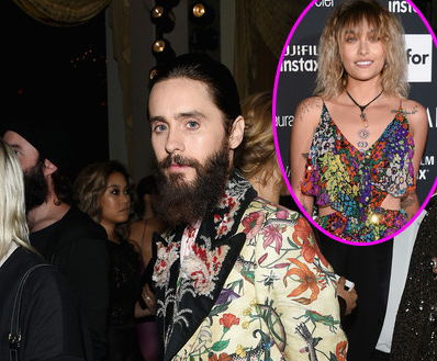 Jared Leto detrás de Paris Jackson?