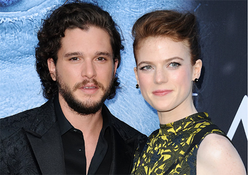 Game Of Thrones!! Kit Harington y Rose Leslie comprometidos!!