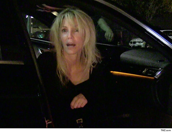 Heather Locklear hospitalizada tras accidente