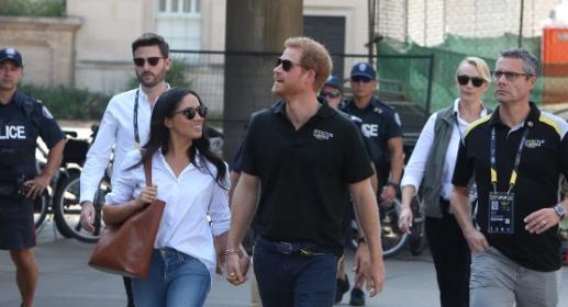 Pic: Meghan Markle y el Principe Harry tomados de la mano!