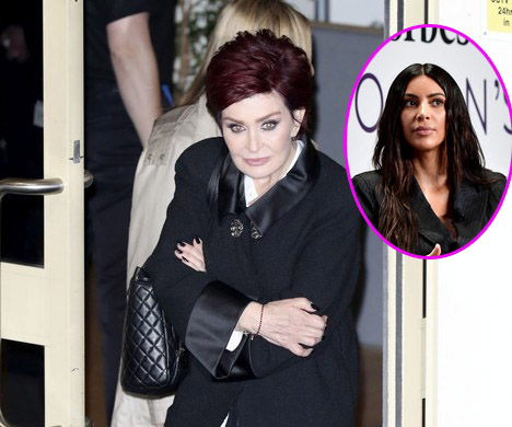 Sharon Osbourne critica a Kim Kardashian: posar desnuda no es feminista