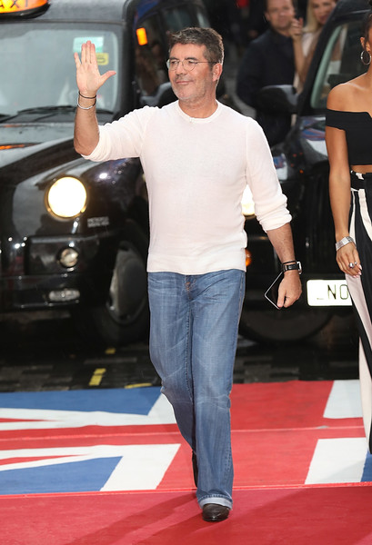 Simon Cowell al hospital tras caída en casa