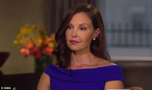 Ashley Judd habla de Harvey Weinstein con Diane Sawyer