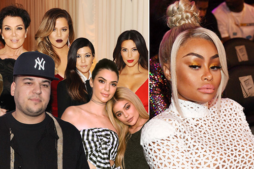 Blac Chyna demanda al klan Kardashian-Jenner!! WAR!!