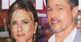 Brad Pitt regresa a los brazos de Jennifer Aniston! (InTouch)