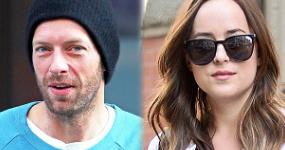 Chris Martin y Dakota Jonhson juntos!