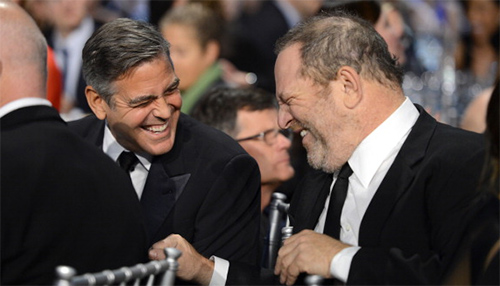 George Clooney habla de Harvey Weinstein