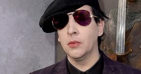 Marilyn Manson hospitalizado, el escenario le cayó encima. WTF?