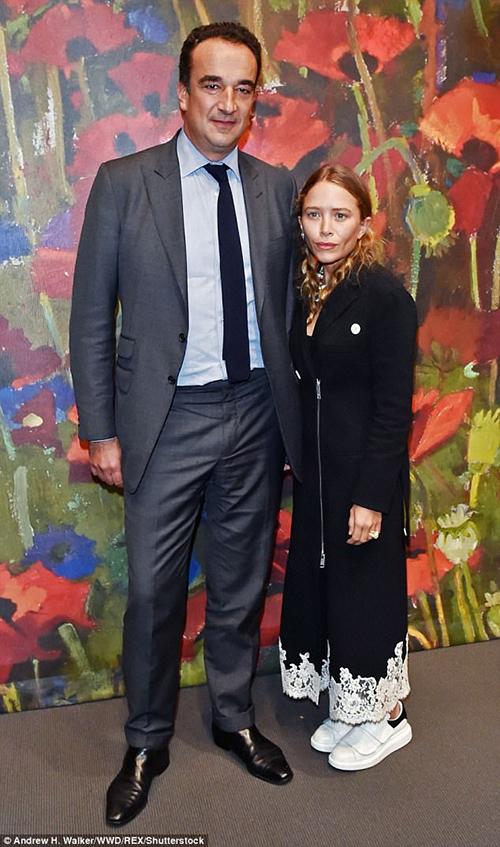 Mary Kate Olsen y Olivier Sarkozy en New York