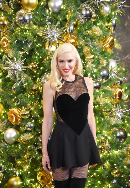 Gwen Stefani habla de su novio Blake (Marie Claire)