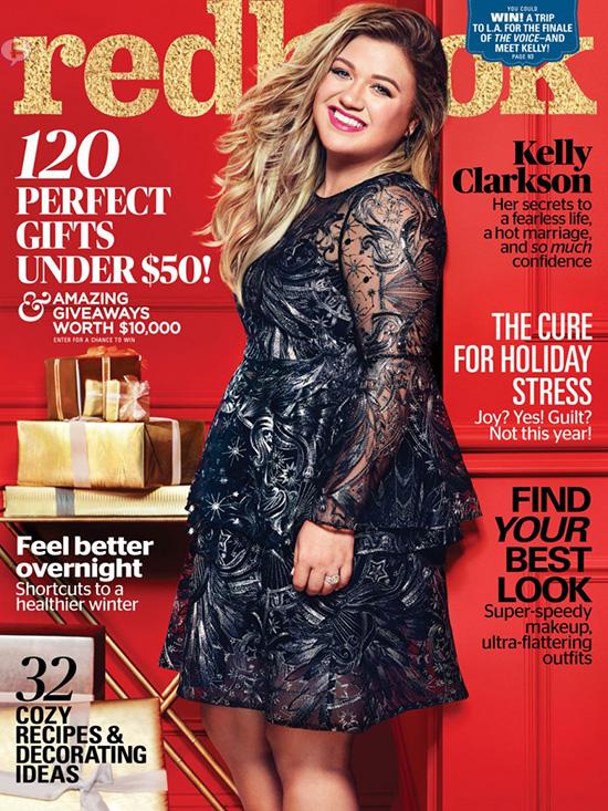Kelly Clarkson: cuando estoy gorda soy feliz (Redbook)