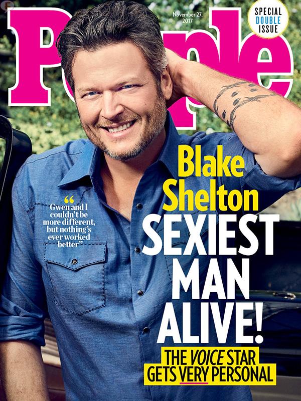 Blake Shelton el Hombre Más Sexy 2017? WHAT? - UPDATE!