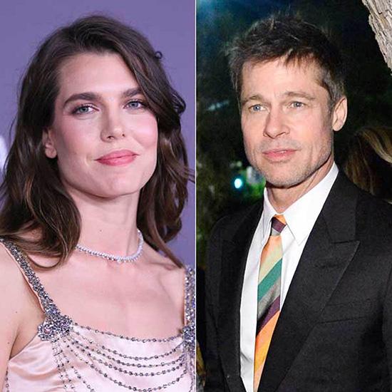 Brad Pitt saliendo con la realeza de Monaco? LOL!