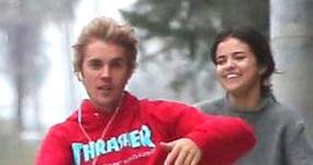 Justin Bieber y Selena Gomez parecen novios!!