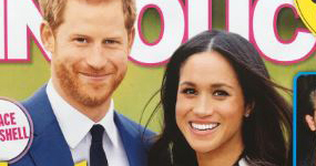 Meghan Markle embarazada! (InTouch)