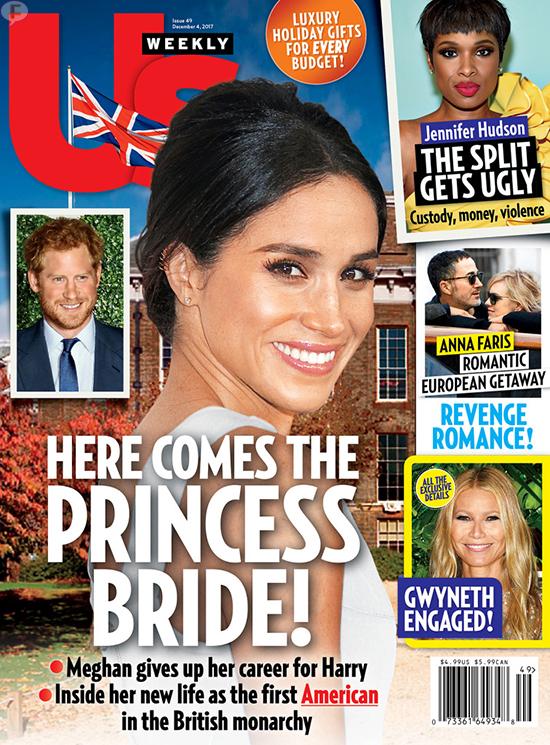 Meghan Markle y el Príncipe Harry comprometidos (Us)