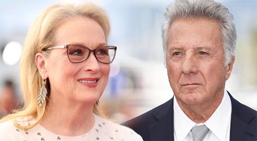 Meryl Streep contó como Dustin Hoffman le faltó el respeto