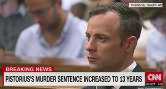 Oscar Pistorius sentenciado a 13 años por el asesinato de Reeva Steenkamp