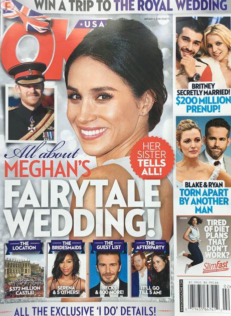 Todo sobre la boda soñada de Meghan Markle! OK!