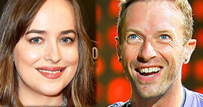 Dakota Johnson y Chris Martin son pareja!