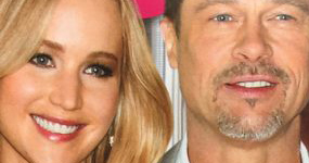 Jennifer Lawrence y Brad Pitt!! (Star)