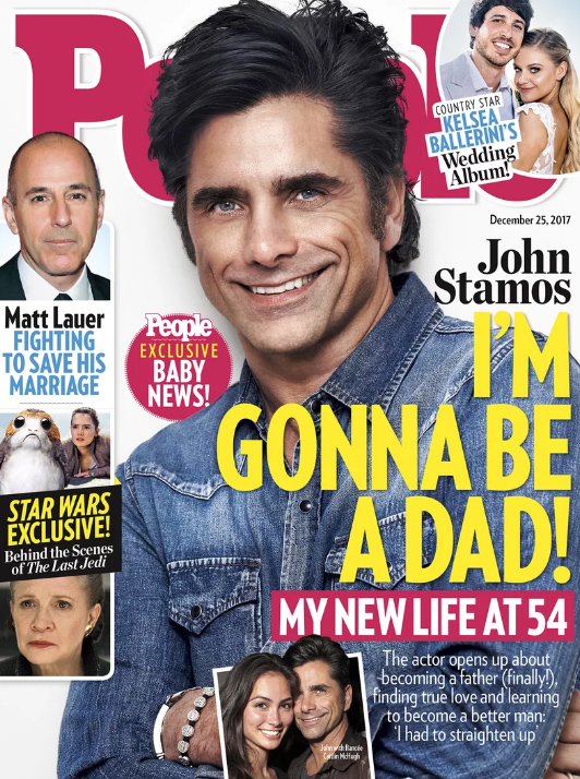 John Stamos será padre!