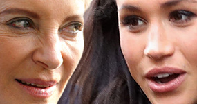 Princesa Michael insulta a Meghan Markle con un broche racista