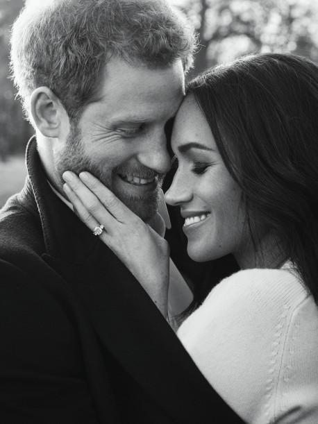Fotos Oficiales del compromiso del Príncipe Harry y Meghan Markle