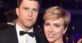 Scarlett Johansson y Colin Jost hacen público su romance
