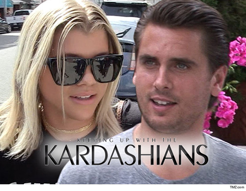 Sofia Richie en Keeping Up With The Kardashians? Nope!