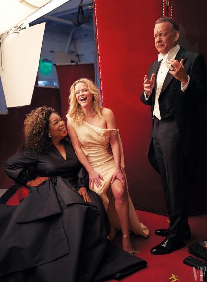 Vanity Fair Hollywood con Oprah, Nicole Kidman, Tom Hanks, Reese y otras celebs…