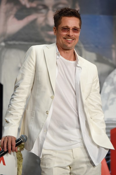 Brad Pitt usa su nombre real cuando coquetea LOL!