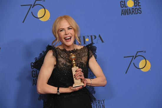Nicole Kidman no menciona a sus hijos adoptivos en los Golden Globes y la critican