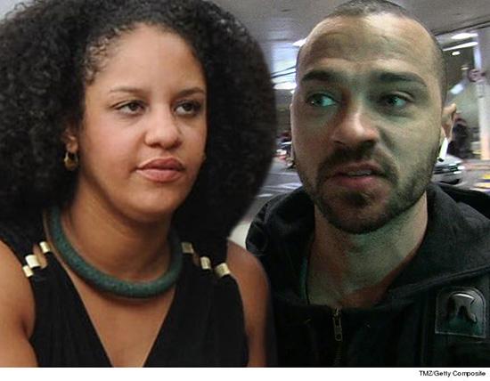 Ex de Jesse Williams dice que el actor le presentó su novia a los hijos. WAR!