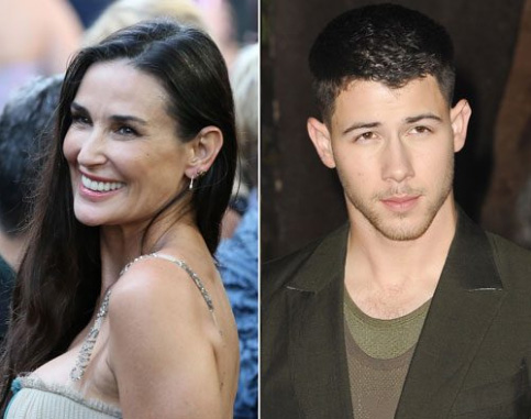 Demi Moore saliendo con Nick Jonas!! What?