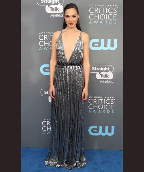 Alfombra Roja Critics' Choice Awards 2018