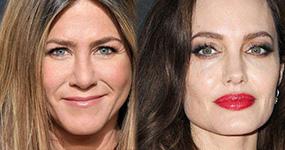 Angelina Jolie y Jennifer Aniston presentadoras en los Golden Globes 2018