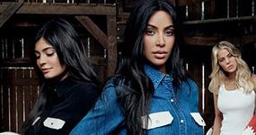 Kim Kardashian, Kylie Jenner (y las demás) para Calvin Klein!!