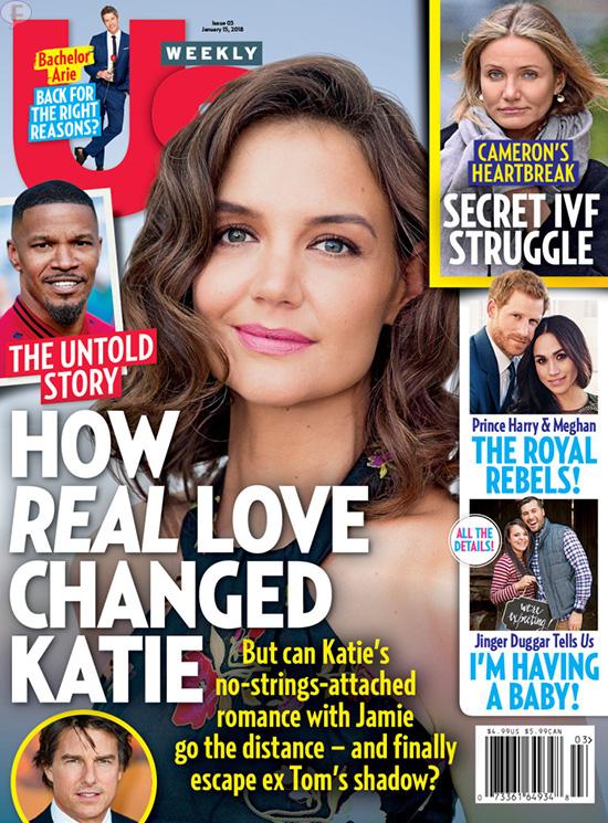 Katie Holmes y como el amor verdadero le cambió (Us)