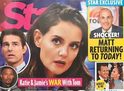 Katie Holme y Jamie Foxx en guerra con Tom Cruise – Star