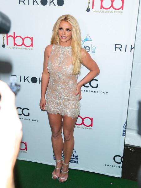 Britney Spears en los Hollywood Beauty Awards 2018