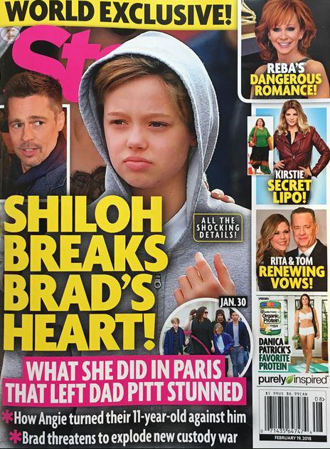 Shiloh rompe el corazón de Brad – Star