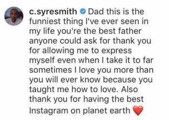 Will Smith felicita a su hijo Jaden con parodia de Icon LOL!