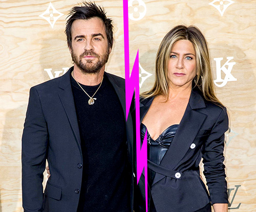 Jennifer Aniston y Justin Theroux anuncian separación!