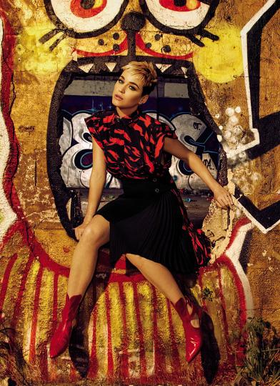 Katy Perry quiere olvidar los traumas infantiles (Glamour)